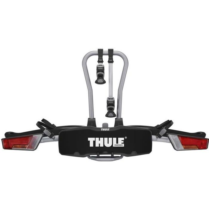 THULE Porte-vélos EasyFold 932 - Pour 2 vélos - 7 broches - Noir