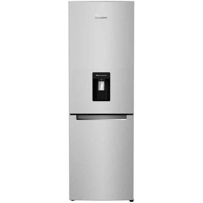 TRIOMPH TSCO314NFWX - Réfrigérateur Congélateur bas - 314L (214 + 100) - No Frost - A+ - L 60 x H 180.5 cm - Look Inox