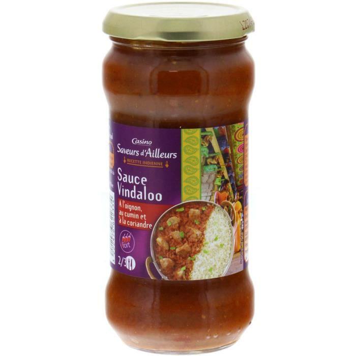 Sauce Vindaloo - 350 g