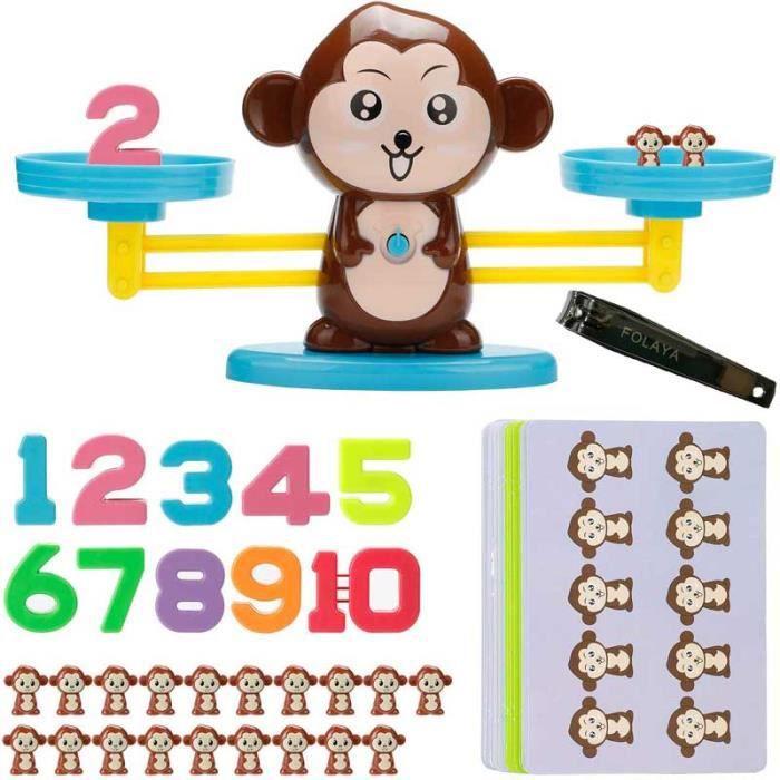 MagiDeal Perles Plastique Jouet Educatif de Calcul Comptage Jeu Maths Enfants Pr/éscolaire