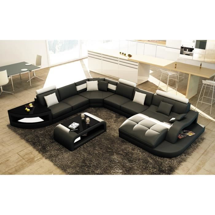 canap d 39 angle cuir achat vente canap d 39 angle cuir. Black Bedroom Furniture Sets. Home Design Ideas