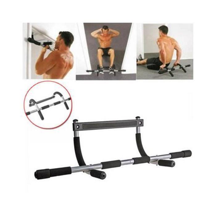 BARRE POUR TRACTION Gym Fitness Barre de Porte Barre de Traction Muscu