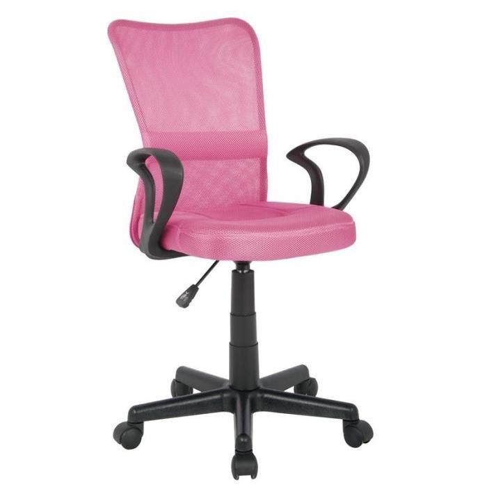 CHAISE DE BUREAU Chaise de bureau Rose - MYCO00536