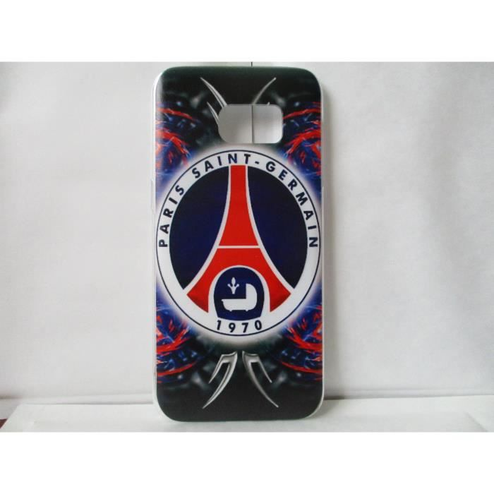 coque psg paris saint germain samsung galaxy s7 edge neuf motif c achat coque bumper pas. Black Bedroom Furniture Sets. Home Design Ideas