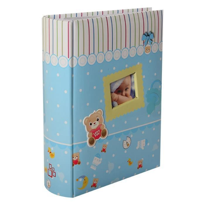 album photo naissance pochettes gar on pour 300 photos 10x15 cm achat vente coffret cadeau. Black Bedroom Furniture Sets. Home Design Ideas