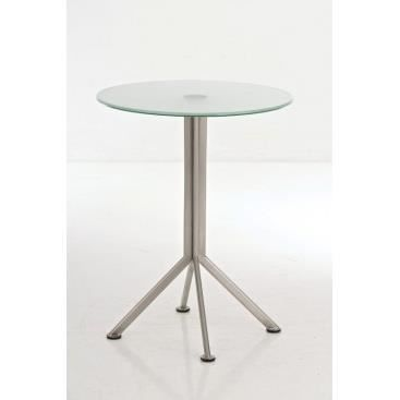 Table de bar en verre oliviera verre achat vente mange debout table d - Table de bar en verre ...