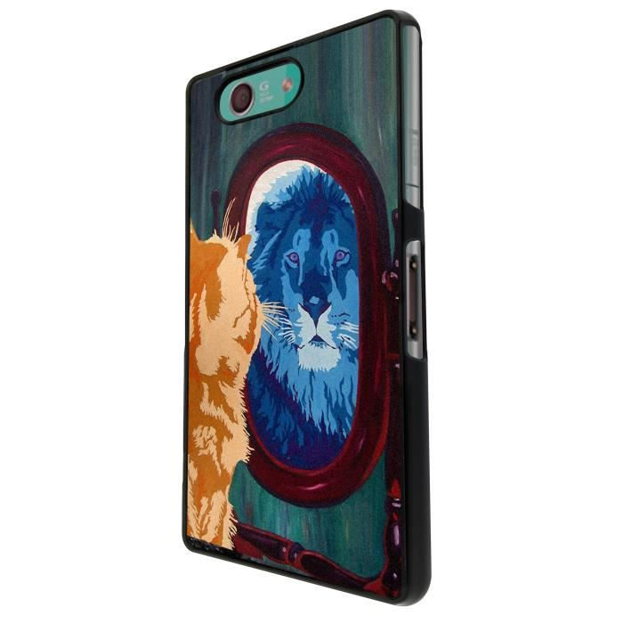 Cool cat mirror lion sony xperia z3 compact couverture - Espionner portable sans y avoir acces ...