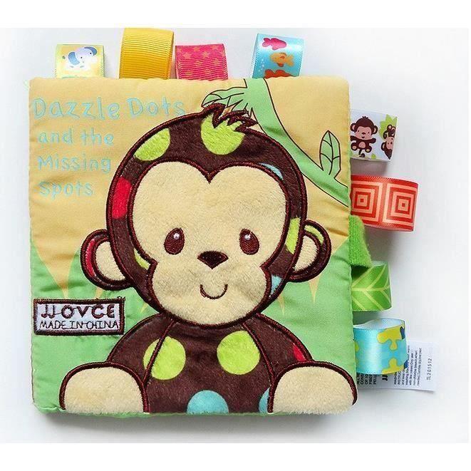 LIVRE D'ÉVEIL 1 pc Livre en Tissu pour Bébé Enfant Renseignement