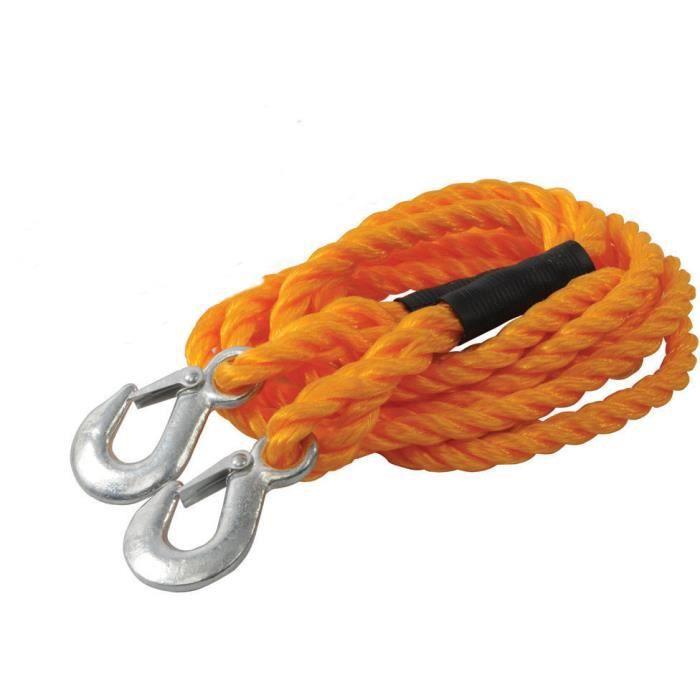 Corde de remorquage//Remorque dune capacit/é de 3 tonnes /à 3 m en nylon
