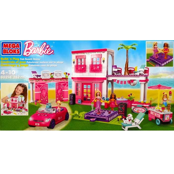 megabloks barbie fabuleuse maison achat vente maison. Black Bedroom Furniture Sets. Home Design Ideas