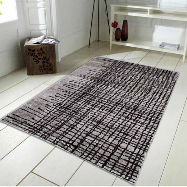 Abstract ar tapis 160x230 gris 25217162 monbe achat for Abstract salon fayetteville ar