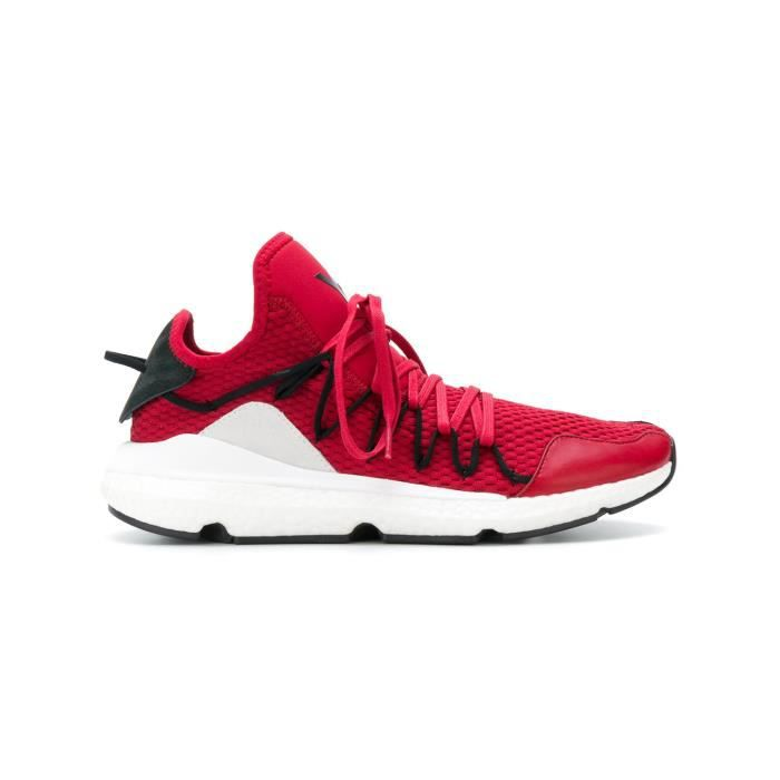 look out for best wholesaler outlet on sale ADIDAS Y-3 YOHJI YAMAMOTO HOMME AC7191 ROUGE TISSU BASKETS Rouge ...