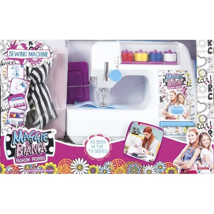 Maggie bianca smoby machine coudre achat vente jeu for Irresistible a coudre 4 8 ans