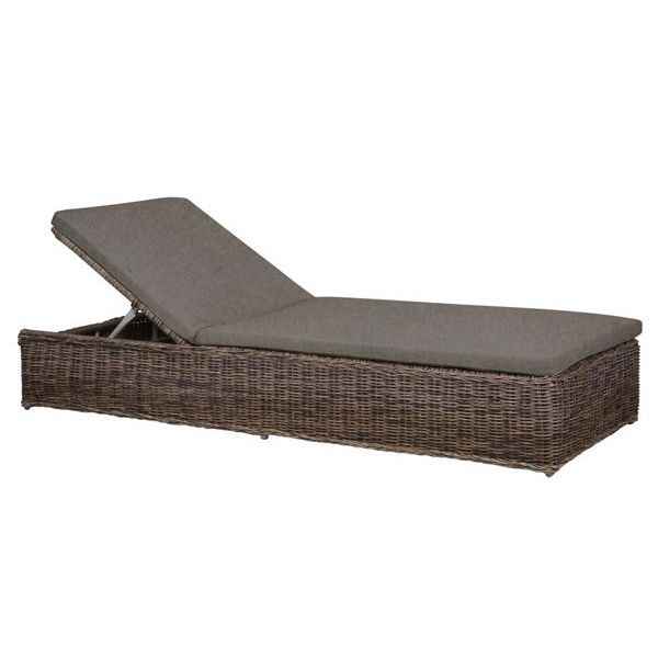 lounger r sine tress e ronde modulo achat vente chaise longue transat bains de soleil. Black Bedroom Furniture Sets. Home Design Ideas