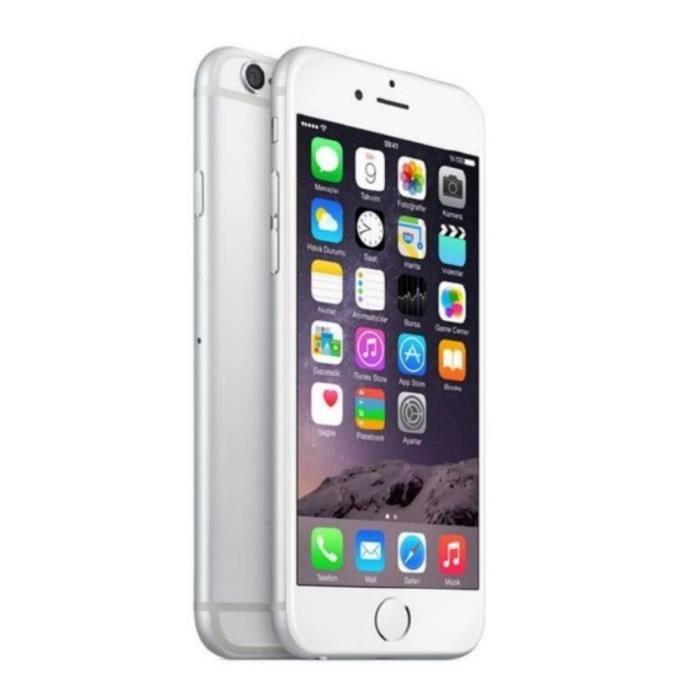 apple iphone 6 16gb reconditionn neuf blanc. Black Bedroom Furniture Sets. Home Design Ideas