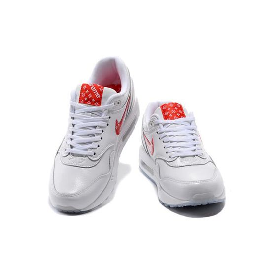Baskets Supreme x Nike Air Max 1 Premium Chaussures de