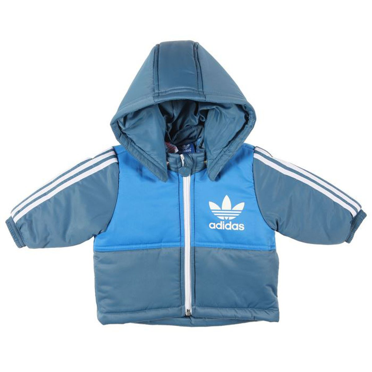adidas originals blouson b b gar on bleu achat vente blouson soldes cdiscount. Black Bedroom Furniture Sets. Home Design Ideas