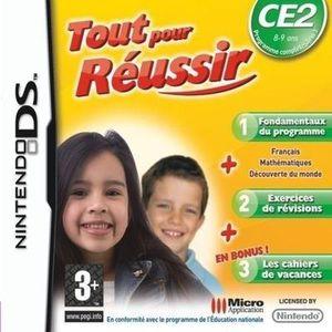 JEU DS - DSI TOUT POUR REUSSIR CE2 / JEU CONSOLE NINTENDO DS