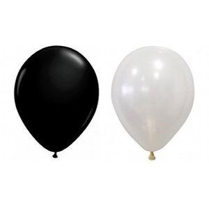 Ballon Noir Et Blanc Helium
