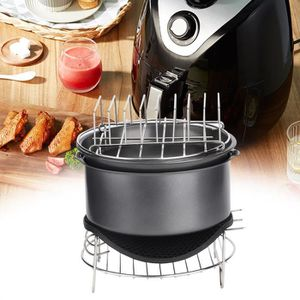 FRITEUSE 7pcs / set accessoires barbecue air friteuse set o