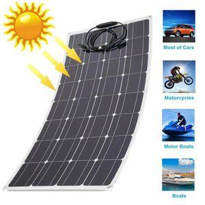 KIT PHOTOVOLTAIQUE Kit solaire 18V 130W Watt Panneau solaire flexible