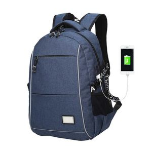 SAC À DOS Sac à dos pour ordinateur portable de charge USB H