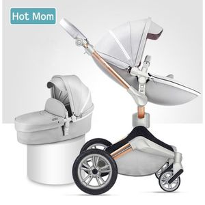 POUSSETTE  Hot Mom Poussette combinée poussette et nacelle -