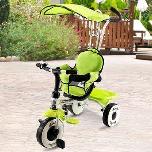 TRICYCLE Tricycle Enfant/Bébé Evolutif avec Auvent Pliable