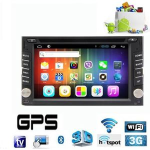 PACK GPS AUTO GPS Double-Din Spécial Camping Car Android 4.2, TN