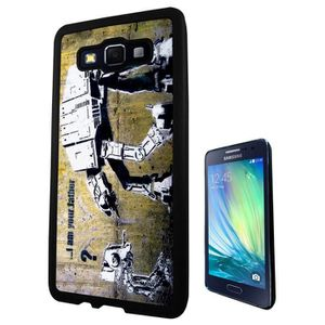 Banksy grafitti art star war robot samsung galaxy a5 - Espionner portable sans y avoir acces ...