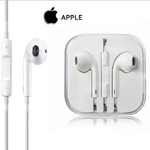 CASQUE - ÉCOUTEURS KIT PIETON COMPATIBLE Apple EarPods iPhone 5 Apple