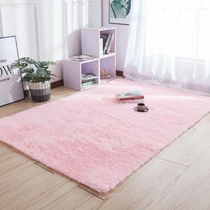 TAPIS 1 pièces grand moelleux Shaggy zone tapis antidéra