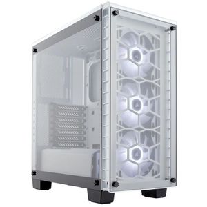BOITIER PC  Boitier Corsair Crystal 460X RGB Blanc