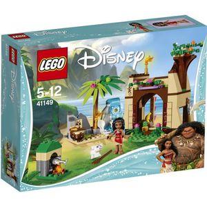 ASSEMBLAGE CONSTRUCTION LEGO®  Disney Vaiana 41149 L'Aventure sur l'Île de