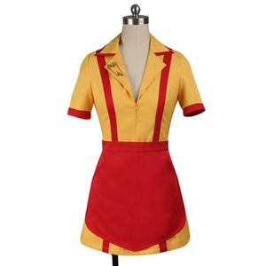 Déguisement 2 Broke Girls Max And Caroline Uniforme Cosplay Achat