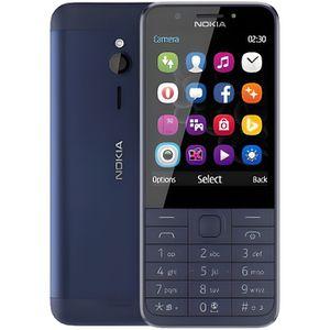 Téléphone portable Nokia 230 Bleu foncé Double SIM