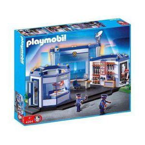 UNIVERS MINIATURE Playmobil - Figurine - Commissariat de Police
