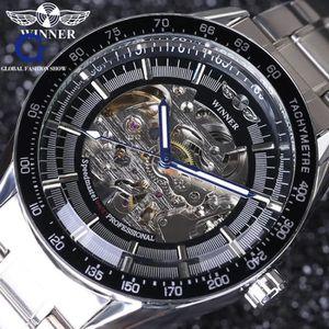MONTRE Plein Horloge Hommes En Acier Inoxydable Montre Au