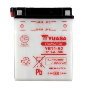 BATTERIE VÉHICULE YUASA-812149 - Batterie YB14A2