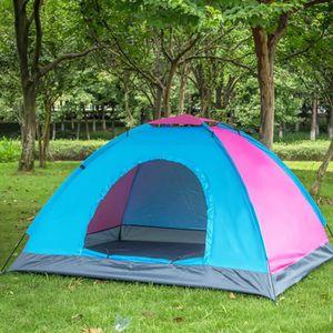 TEMPSA Tente de camping - 2 places - Couleur aléatoire