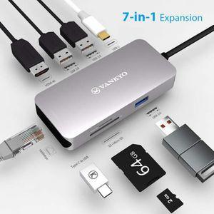 HUB VANKYO hub USB c 3 x USB 3.0 Adapter en Aluminium