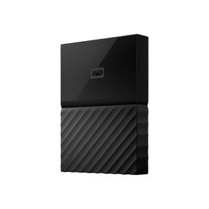 DISQUE DUR EXTERNE WESTERN DIGITAL My Passport for Mac - 4To - Noir