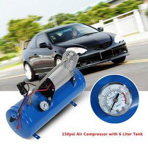 COMPRESSEUR AUTO Compresseur d'air de 150psi 12V avec Réservoir de