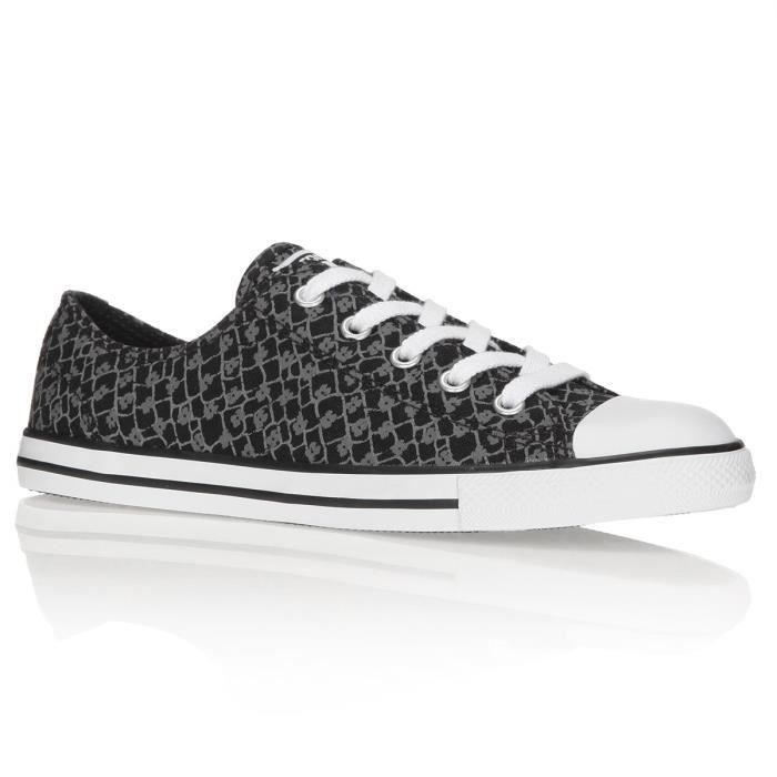 ac19fbac64d23 CONVERSE Baskets Chuck Taylor All Star Dainty Ox Chaussures Femme ...