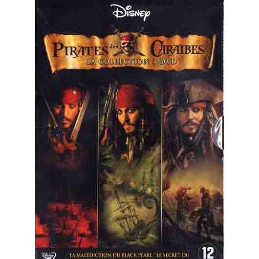 coffret pirates des caraibes la trilogie en dvd film pas. Black Bedroom Furniture Sets. Home Design Ideas
