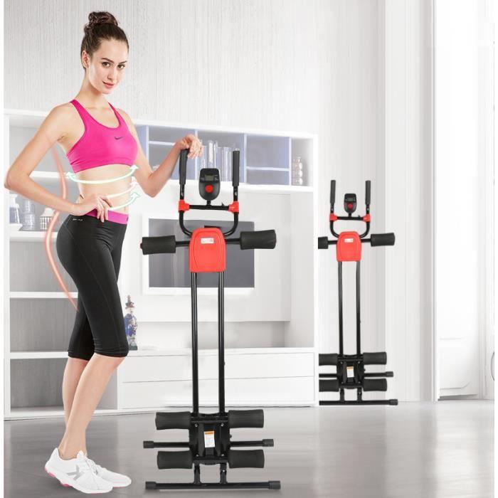 Appareil abdominal - 5 Minute Shaper Machine Abdominaux Pliable pour Musculation Fitness