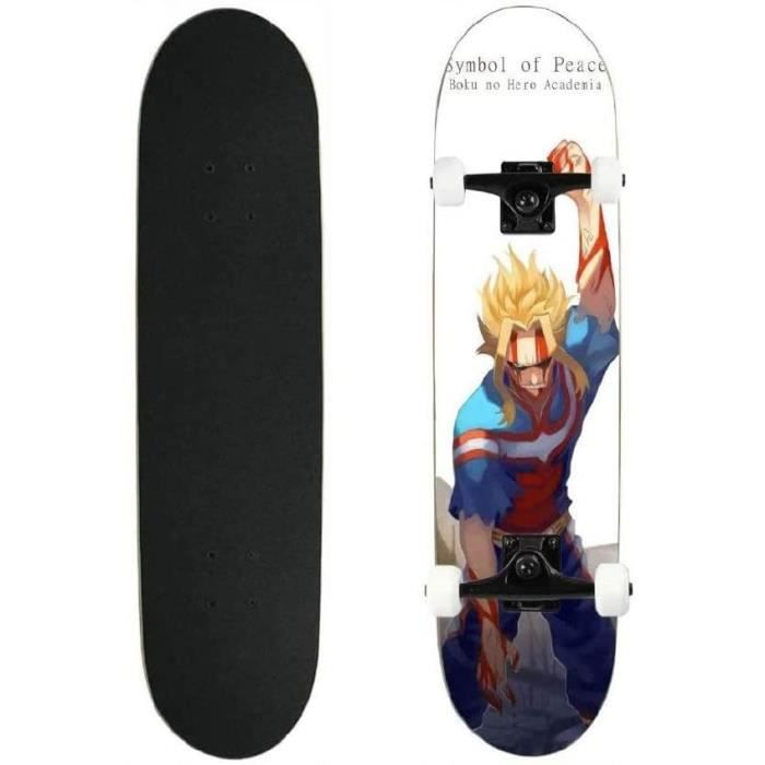 Skateboards Totots My Hero Academia: Tout le plan de skateboard, Anime My Hero Academia Double planche à roulettes Tilt P137