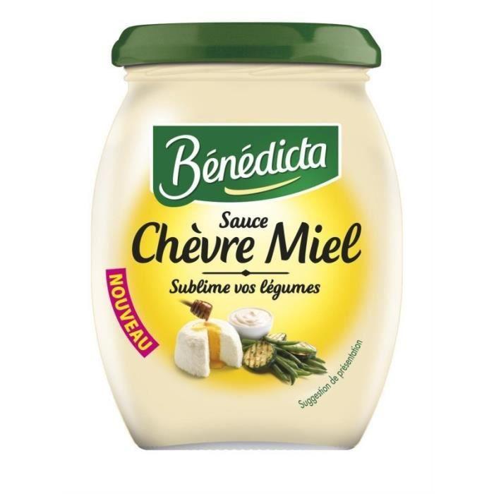Bénédicta Sauce Chèvre Miel Sublime vos Légumes 260g (lot de 6)