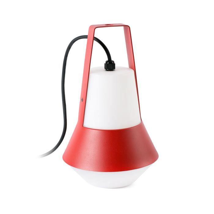 Lampe extérieure nomade Cat rouge Rouge