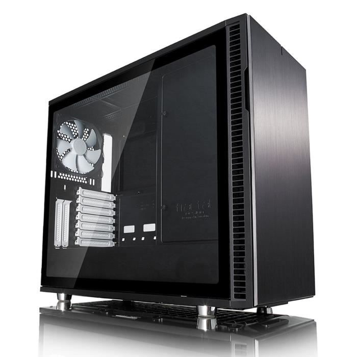 Fractal Design Define R6C Black Tempered Glass USB-C